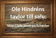 Annons - Ole Hindréns tavlor till salu